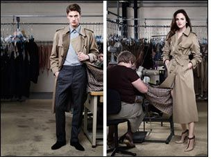 Aquascutum made in England – the great British trench coat