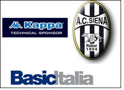 Sports brand Kappa new sponsor of the Siena
