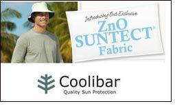 Coolibar embeds ZnO to natural fibers to create ZnO SUNTECT fabric