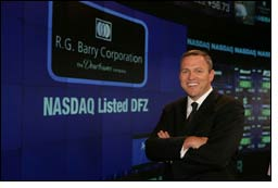 R.G. Barry President, CEO bags Entrepreneur of the Year Award