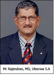 Mr Rajendran, MD, Utexrwa S.A