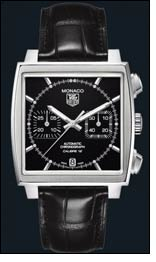 Tag Heuer's Monaco LS Marks new way to tell time