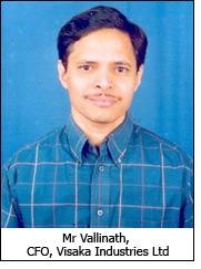Mr Vallinath, CFO, Visaka Industries Ltd