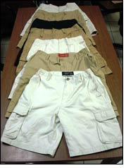 CBP in Charleston intercepts counterfeit designer shorts & jeans