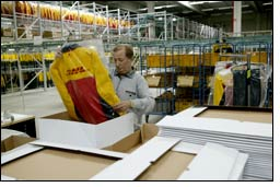 Levi Strauss & Co extends its contract with DHL