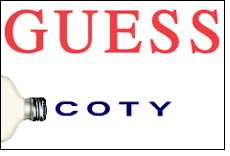 Coty, lifestyle brand GUESS partner in scent deal