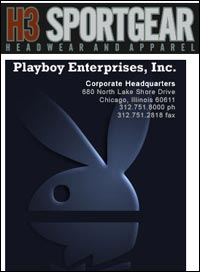 H3 Sportgear to design stylish line of accessories for Playboy
