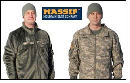 Five Massif core garments selected for FREE program of Army