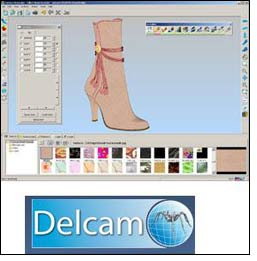 Delcam to launch new shoe upper design software in AFM
