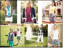 Linda Hipp spring 2010 collection inspired by jubilation