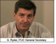 G. Ryder, ITUC General Secretary