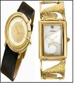 Esthetics of Greek Architecture in Gold watches