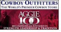 Cowboy Outfitters named to the 5th Annual Aggie 100