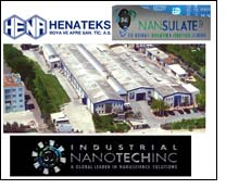 Henateks reduces energy consumption by 20% with Nansulate