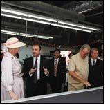 Danish Royal Couple visit MASCOT Factory & Logistic Centre