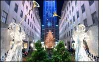 Redesigned Swarovski Star for Rockefeller Christmas Tree
