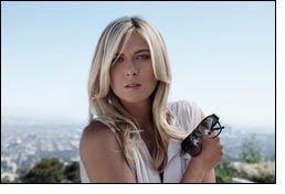 Maria Sharapova collaborates with TAG Heuer Eyewear