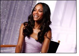 Actress Zoe Saldana to be the face of Eternal Magic