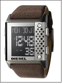 New Diesel watches ooze drama & avant garde style