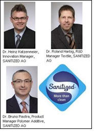 SANITIZED strengthens its innovation competence