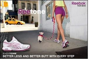 New TVC for Reebok's EasyTone Shoe launches