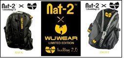 WuTang presents Nat-2 & WuWear bookbag 2.0