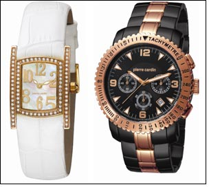 Pierre Cardin launches S/S watch collection