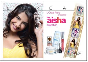L'Oreal reveals stunning Aisha collection