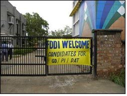 Tests, discussions & interviews in full swing at FDDI