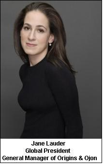 Jane Lauder to lead Origins and Ojon