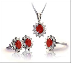 Liali Jewellery celebrates July with ruby & diamond collection