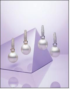 Paspaley brings pearl earrings