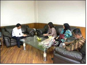 High level delegation from Republic of Indonesia visit FDDI