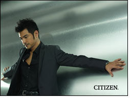 Citizen Watch signs Takeshi Kaneshiro for new campaign
