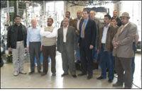 Terrot GmbH welcomes Iraqi crew