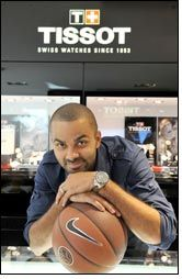 Tony Parker becomes new face of Tissot