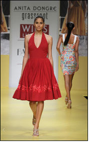 Anita Dongre showcases new Shop for Change Fair Trade range at WIFW