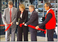 Carpet producer opens Water Recycling Facility