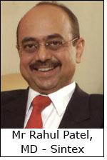 Mr Rahul Patel, MD - Sintex
