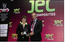 Coatema wins JEC Composites Innovation Award