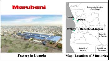 Japan's Marubeni to revamp three textile plants