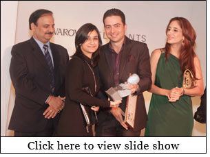 Prerna Dhawan wins SWAROVSKI ELEMENTS awards