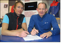 Leo Houlding continuing to represent Berghaus brand