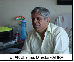 Dr AK Sharma, Director - ATIRA