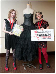 Mollie Bradford & Shayla Harris get full marks at Passion for Fashion