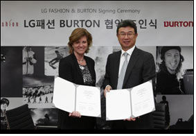 LG Fashion to create Burton-branded apparel products