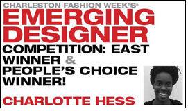 Charlotte Hess wins CFW Emerging Designer Competition