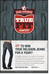 True Religion Brand Jeans impressed by 3 Tier Logic