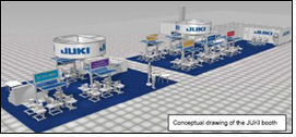 JUKI exhibits at Texprocess under novel ideas for success