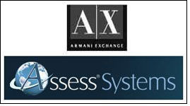 A|X Armani Exchange to use Assess pre-employment testing tool